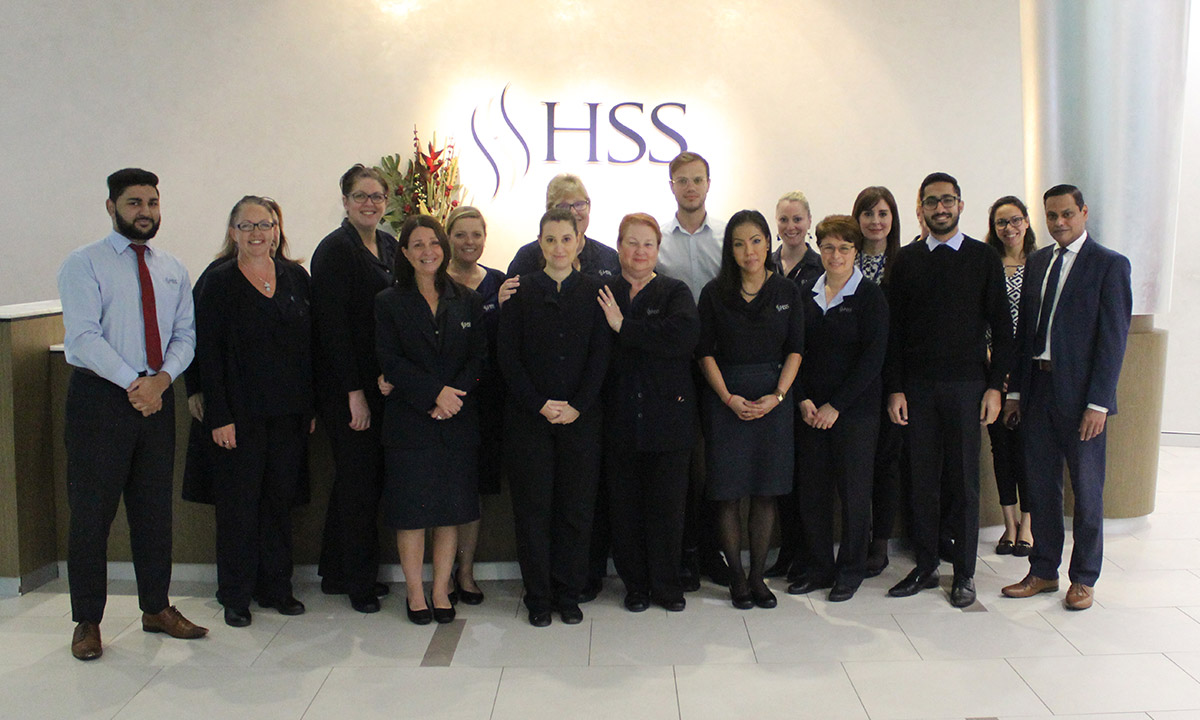 The HSS Administration team